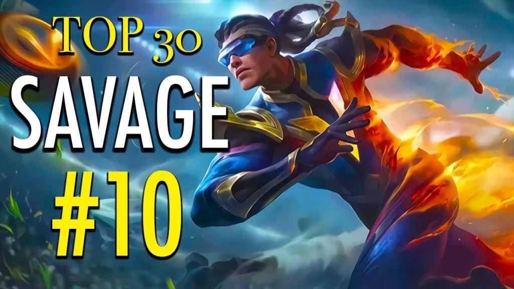TOP 30 SAVAGE MOMENTS #10 ~ Mobile Legends: Bang Bang