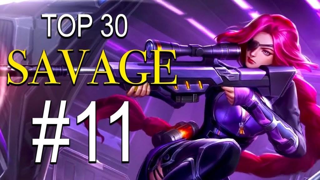 TOP 30 SAVAGE MOMENTS #11 ~ Mobile Legends: Bang Bang