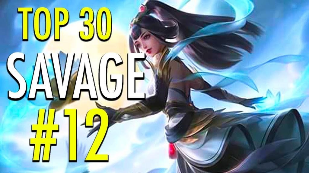 TOP 30 SAVAGE MOMENTS #12 ~ Mobile Legends: Bang Bang
