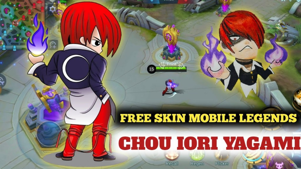 Unlock Skin Mobile Legends Patch Atlas | Chou Iori Yagami Full Effect - No Ban ! Free !