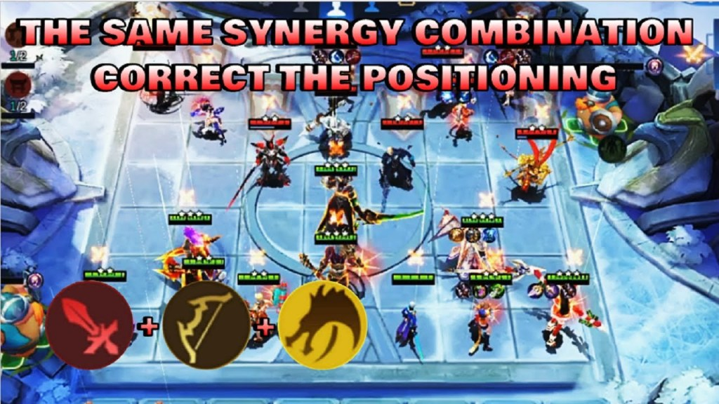 FIGHTER & MARKSMAN SYNERGY - TOP GLOBAL MAGIC CHESS PLAYER | Mobile Legends Bang Bang