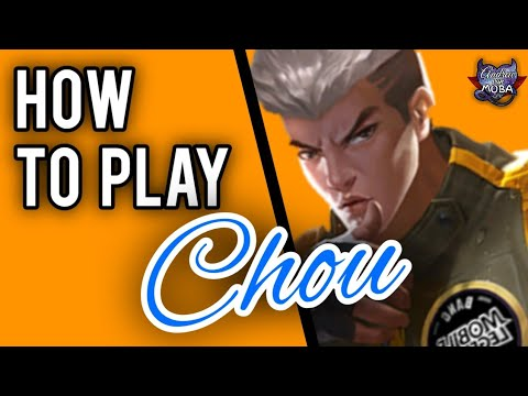 HOW TO USE CHOU || MOBILE LEGENDS✓