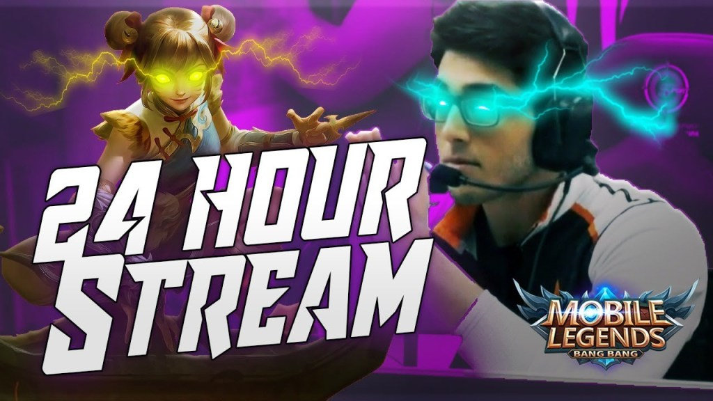 🔴24 HOUR STREAM | Rank 1 NA Marksman | Giveaway | Mobile Legends 🔴