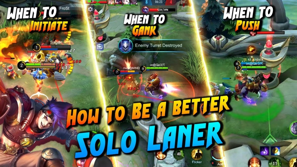 How To Be A Perfect Solo Laner | Mobile Legends Bang Bang