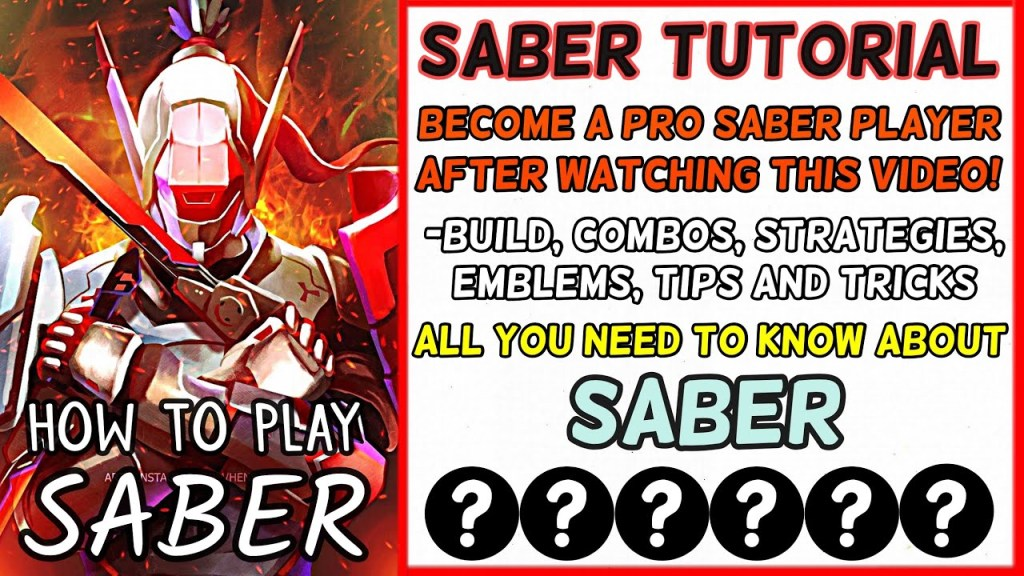 Ultimate Saber Tutorial: Never Lose A Star Using this Method - Tips and Tricks | Mobile Legends