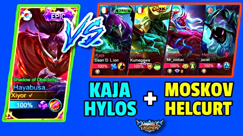 ENEMY NEEDS MORE CC HEROES TO COUNTER MY HAYABUSA! | MOBILE LEGENDS