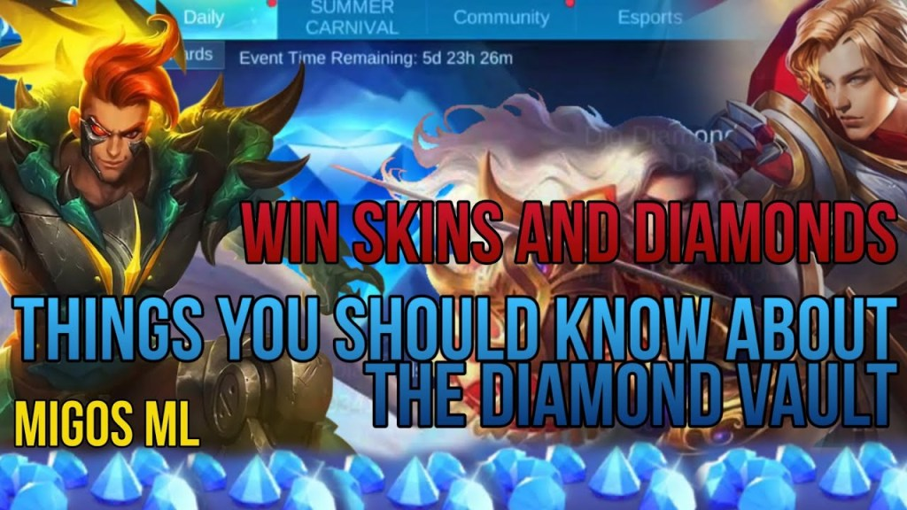 Things You Should Know About Diamond Vault | Mobile Legends