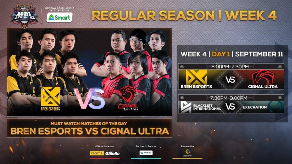 (Filipino LIVE) LIVE NOW: MPL-PH Season 6 Regular Season Week 4 Day 1