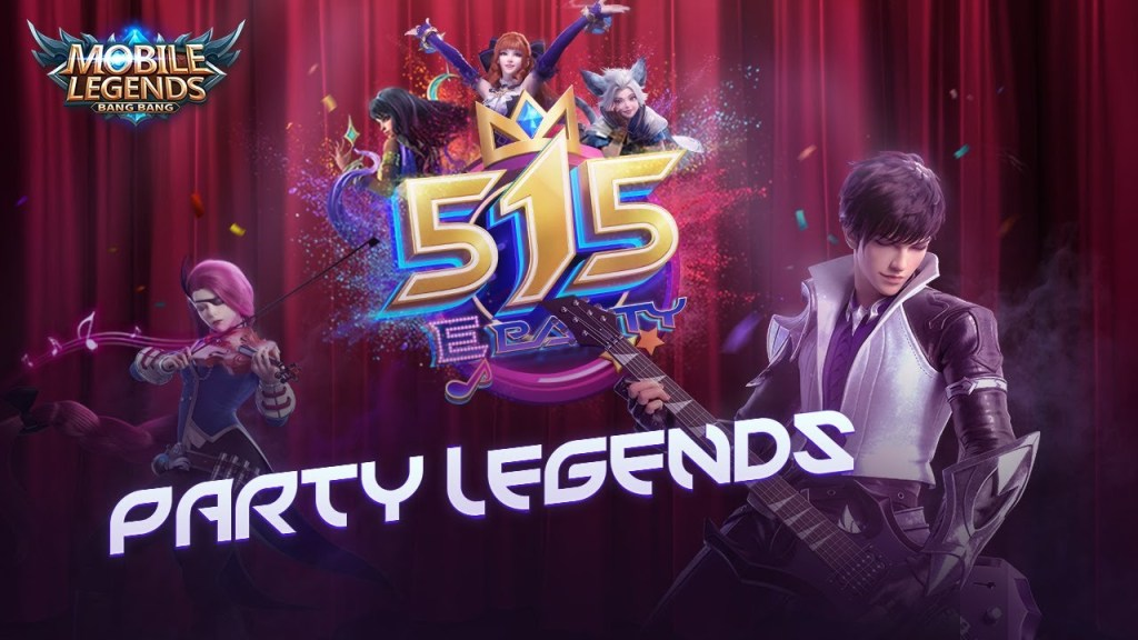 Party Legends | 515 eParty Music Video | Mobile Legends: Bang Bang!