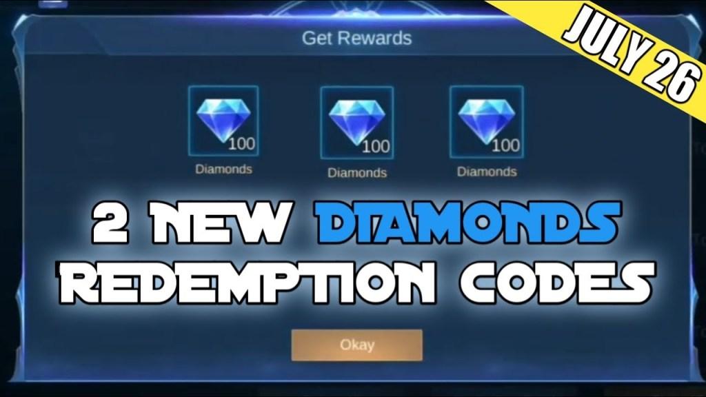 2 WORKING DIAMONDS REDEMPTION CODES - Legit 100% Redeem Fast || Mobile Legends