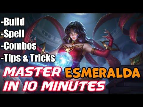Master Esmeralda In 10 Minutes | Mobile Legends Bang Bang