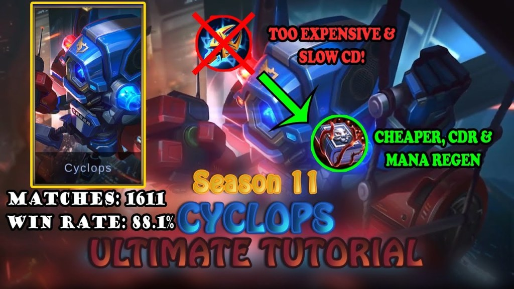 The Ultimate Cyclops Tutorial (Eng/Indo Sub) | Mobile Legends