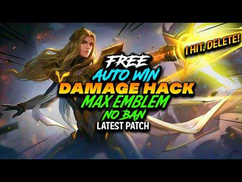 DAMAGE HACK + MAX EMBLEM LATEST PATCH MOBILE LEGENDS