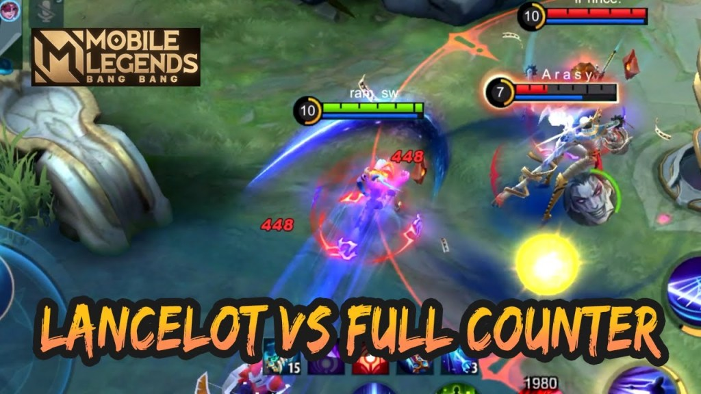LANCELOT VS FULL COUNTER 🔥🔥🔥 | GAMEPLAY #106 | MOBILE LEGENDS BANG BANG