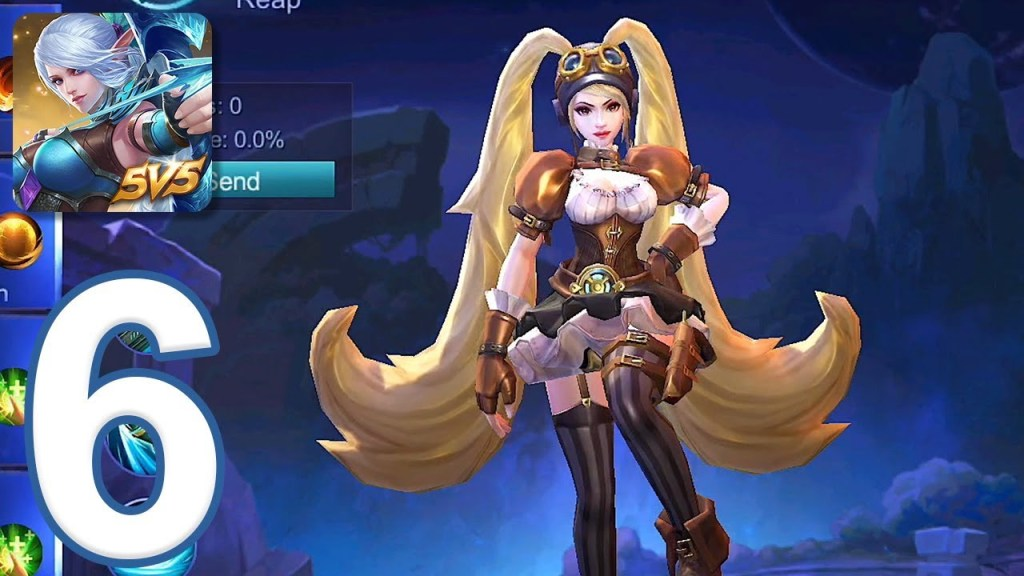 Mobile Legends: Bang Bang - Gameplay Walkthrough Part 6 - Ranked (iOS, Android)