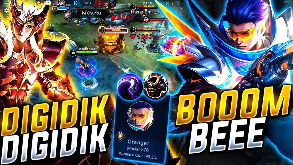 GRANGERIN GÜCÜNÜ NASIL UNUTTUK! & RAKİPLERİN KAFASINA BOMBA YAĞDIRDIM! | Mobile Legends