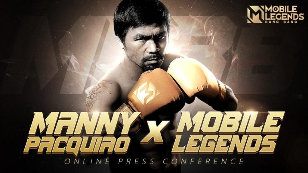 Manny Pacquiao X MLBB Press Conference
