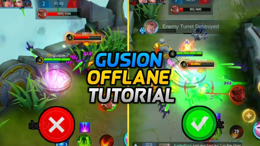HOW TO PLAY OFFLANE GUSION PROPERLY | ADVANCED OFFLANE GUSION TUTORIAL | Must Watch | Mobile Legends