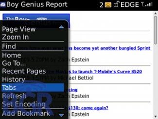 bbtab Tabbed Web Browsing Coming to BlackBerry OS 5.0