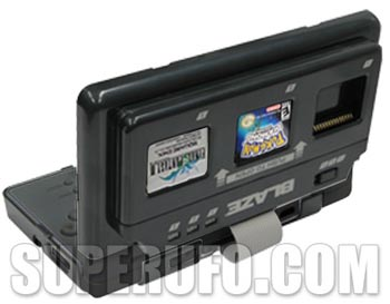 dsgame  Blaze NDS Lite 3-in-1 Game Selector Swaps on the Fly