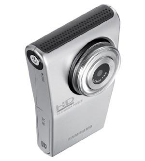 samcam  Tackle the Flip with Samsung HMX-U10 Pocket Camcorder