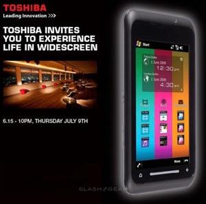 toshiba London to See Toshiba TG01 Smartphone Launch Next Week