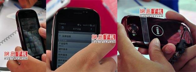 dellmini Dell Mini 3i Smartphone: First Live Photographs