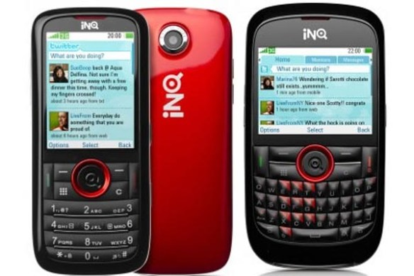 inq  INQ Mini and INQ Chat Offer Smartphone Look in Non-Smartphone Package