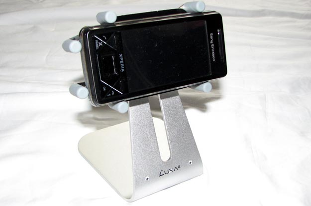 luxa-4 REVIEW - LUXA2 H1-Touch Cell Phone Desktop Stand