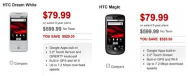 rogersandroid Android Revolution Gets Even Cheaper for HTC Magic, Dream