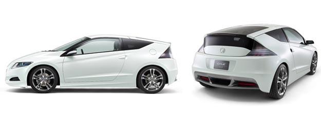 honda Honda CR-Z Hybrid Hatchback Almost Production Ready