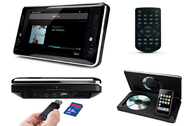 iluv iLuv i1166 Portable Media Player Launches Next Month