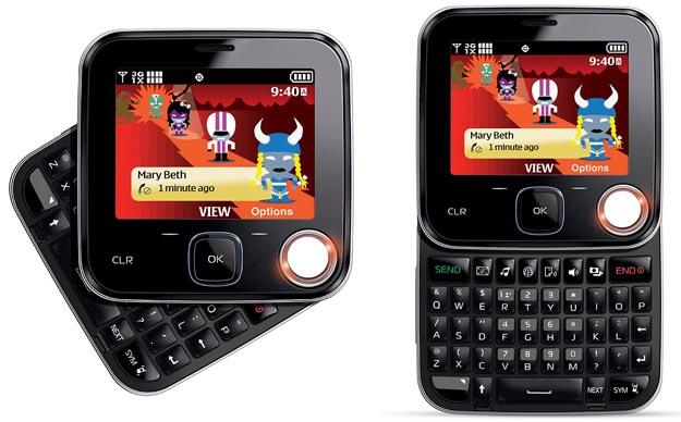 nokiatwist  Verizon Shouts with Nokia 7705 Twist Feature Phone