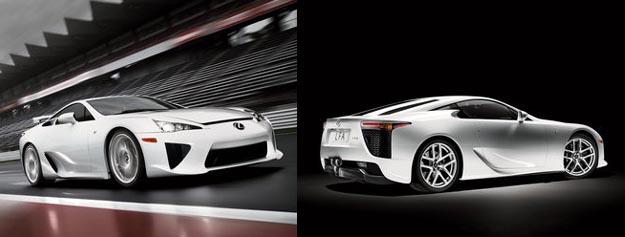 lexus Lexus LFA Production Specs and Images Released