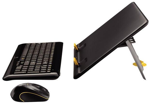 logikit  Logitech MK605 Kit Converts Notebook to Desktop