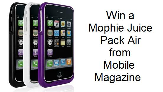 mophie CONTEST: Win a Mophie Juice Pack Air for Apple iPhone
