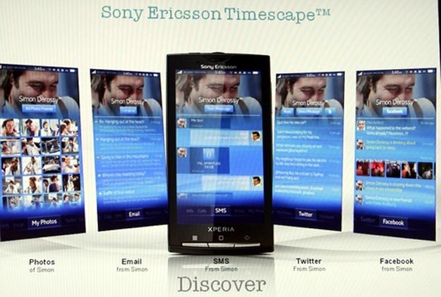 senexus  Custom Android UI Named Sony Ericsson Nexus