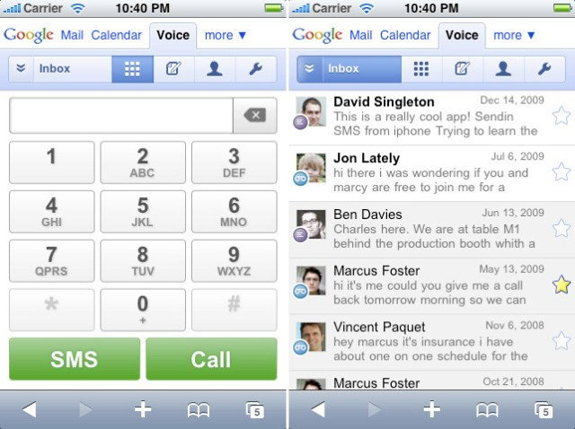 google-voice Google Voice mobile sneaks back on to iPhone
