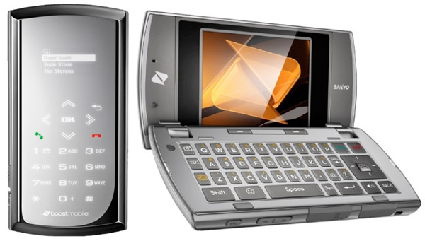 incognito Boost Mobile's Sanyo Incognito by Kyocera is QWERTY-licious