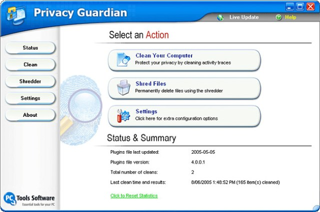 privacy-gaurdian How to: Download PC Tool Privacy Guardian 4.1 full version free with genuine license