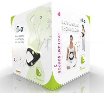 ritmo-box Pregnancy surround sound system makes babies healthy and stress-free