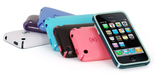 speck-candyshell Speck Skins the iPhone with CandyShell, SeeThru and Fitted cases