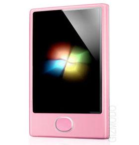 "zunephone Pretty Pink Rumours, Microsoft ""Pink"" Zune Phone due in March"