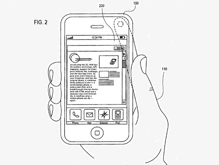 apple-patent.02 Apple patent shows Motion Sensing Technology for future 4th generation iPhone