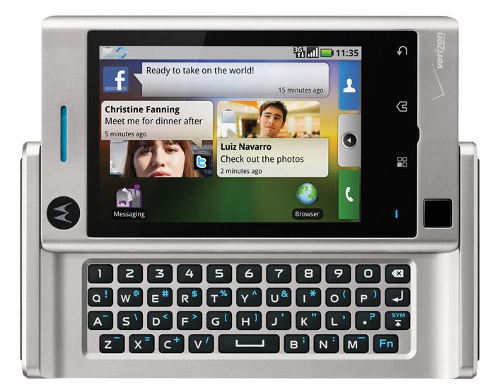 motorola-devour-02 Motorola Droid goes smaller, becomes the Motorola Devour on Verizon