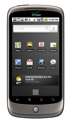 nexus-one-vzw Google Nexus One phone headed to Verizon March 23rd?