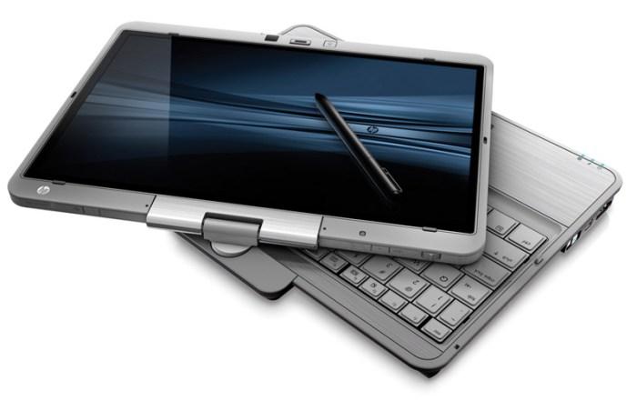 EliteBook_2540p-flat HP EliteBook tablets with magnesium alloy, impact resistant glass, ship April