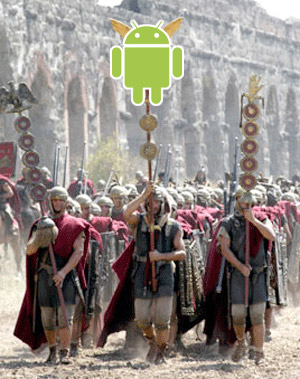 android-rome Google's Android Marketplace to unleash a wrath on Apple's iPhone