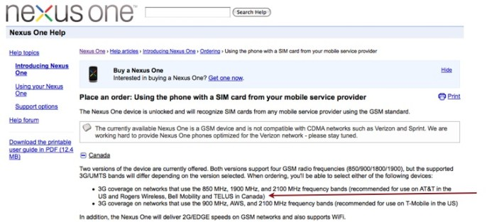 google-nexus-update  Google Nexus One now official for Telus and Bell