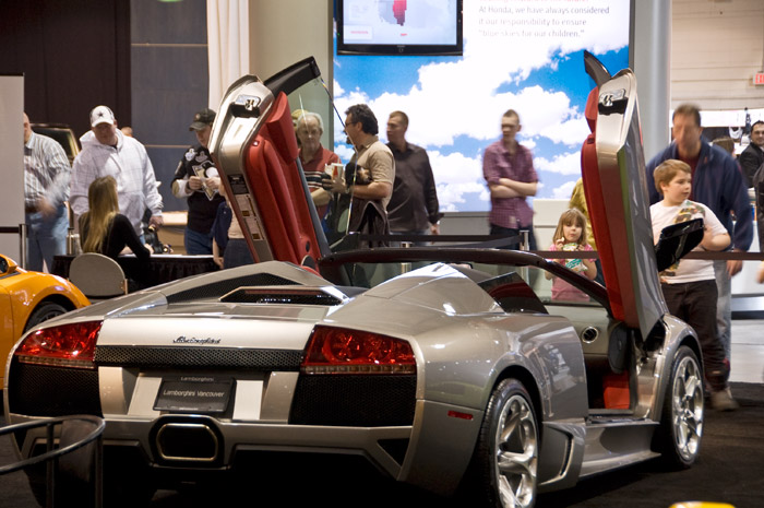 lambo Calgary 2010 Auto Show to wrap up, Spykers and iMiEVs oh my